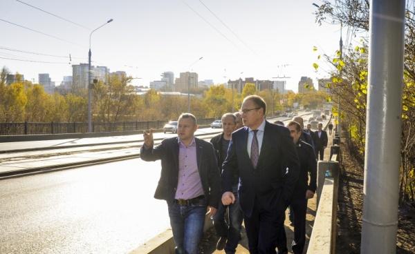 Северная Дамба, Дмитрий Самойлов, дорожный ремонт|Фото: администрация Перми