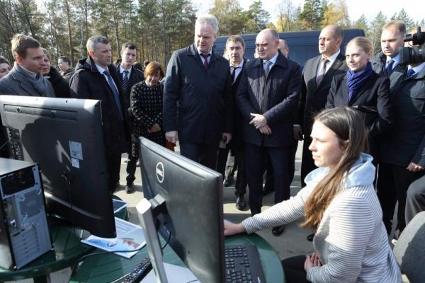 Борис Дубровский, Миасс, Златоуст, визит|Фото:gubernator74.ru