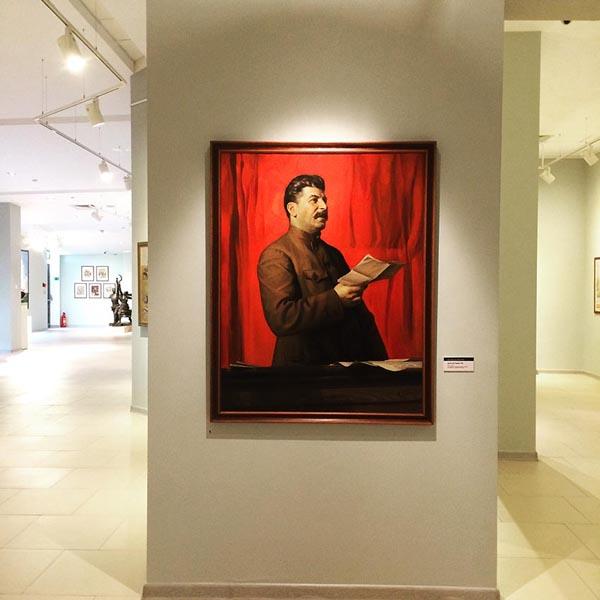 искусство агитации, картина, Сталин|Фото: agitblog.ru