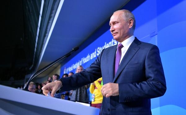 Всемирный фестиваль молодежи и студентов, Владимир Путин|Фото: kremlin.ru