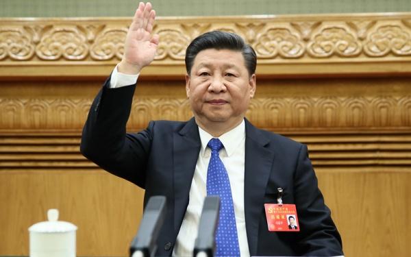 Си Цзиньпин на 19-м съезде КПК|Фото: news.cn