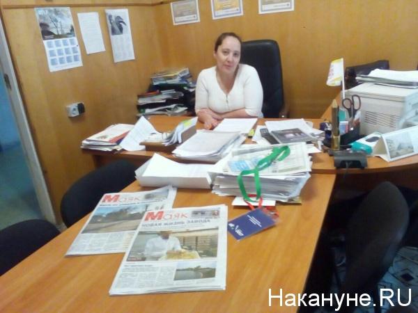 "газета ""маяк"", главный редактор, депутат думы Сысерти  Ирина Летемина|Фото: Накануне.RU"