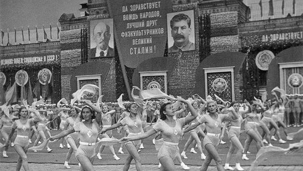 Сталин, Ленин, спорт, СССР|Фото: Фотохроника ТАСС
