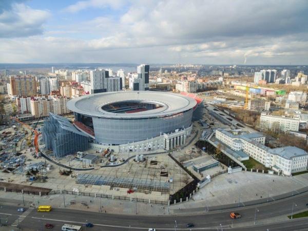 Центральный стадион, Екатеринбург-Арена(2017)|Фото: Группа Синара