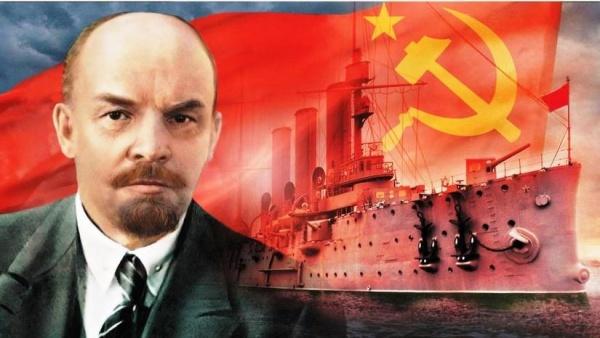 Владимир Ленин, Октябрьская революция, крейсер аврора, СССР(2017)|Фото: kprf.ru
