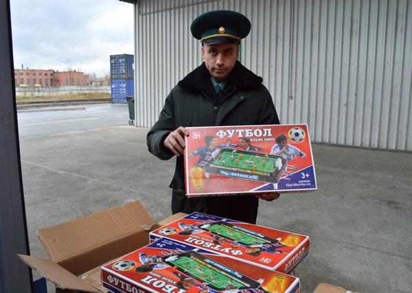 контрафакт, символика, FIFA, Екатеринбург|Фото: Екатеринбургская таможня