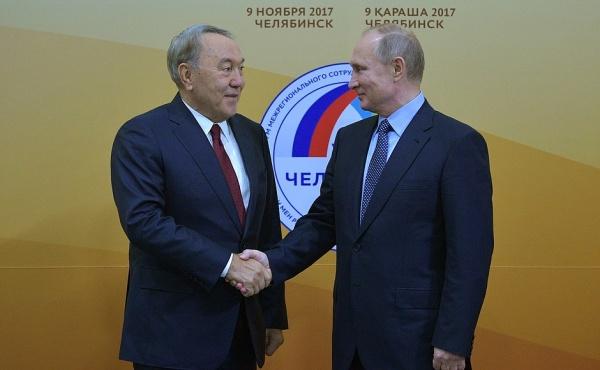 Путин, Назарбаев(2017)|Фото: kremlin.ru