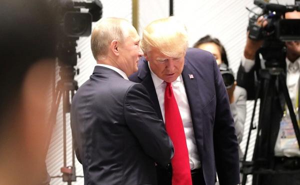Владимир Путин, Дональд Трамп, АТЭС(2017)|Фото:kremlin.ru