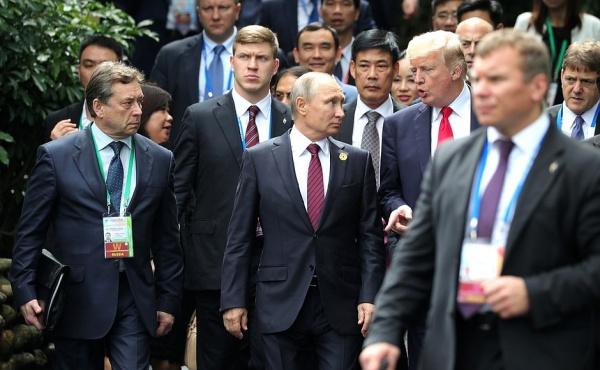 Дональд Трамп, Владимир Путин, АТЭС|Фото:kremlin.ru