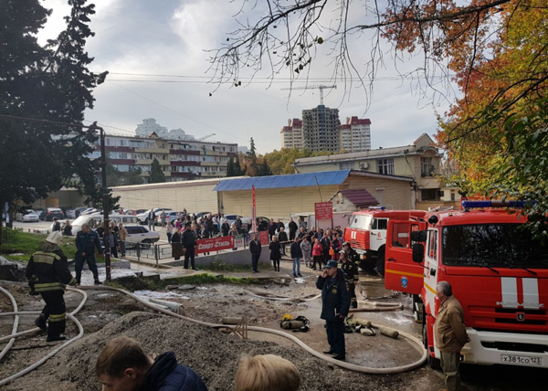 Сочи пожар общежитие|Фото: ГУ МЧС России по Краснодарскому краю