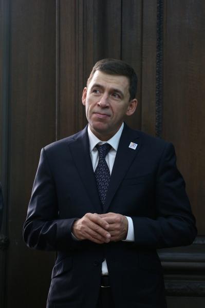 Евгений Куйвашев Фото: Департамент информационной политики СО