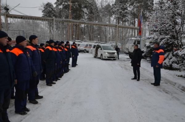 заместитель министра по чрезвычайным ситуациям России Владлен Аксенов Фото: 66.mchs.gov.ru