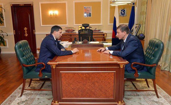 Дмитрий Кобылкин, Андрей Турчак|Фото: пресс-служба губернатора ЯНАО