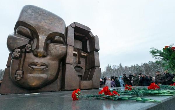 маски скорби, мемориал памяти жертв политрепрессированных, Екатеринбург(2017)|Фото: midural.ru