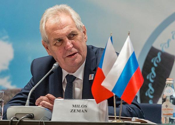 Милош Земан, Российско-Чешский деловой форум(2017)|Фото: ДИП