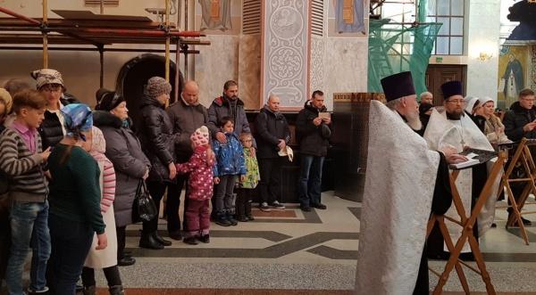 панихида, Храм-на-крови, Екатеринбург(2017)|Фото:Екатеринбургская епархия