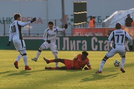 Урал Краснодар футбол(2017)|Фото: fc-ural.ru