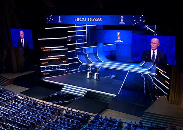 жеребьевка, Чемпионат мира по футболу 2018, Владимир Путин(2017)|Фото: 1 канал