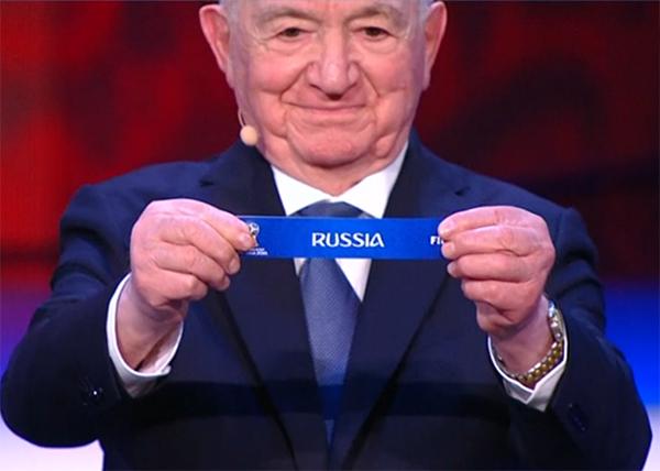 жеребьевка, Чемпионат мира по футболу 2018(2017) Фото: 1 канал