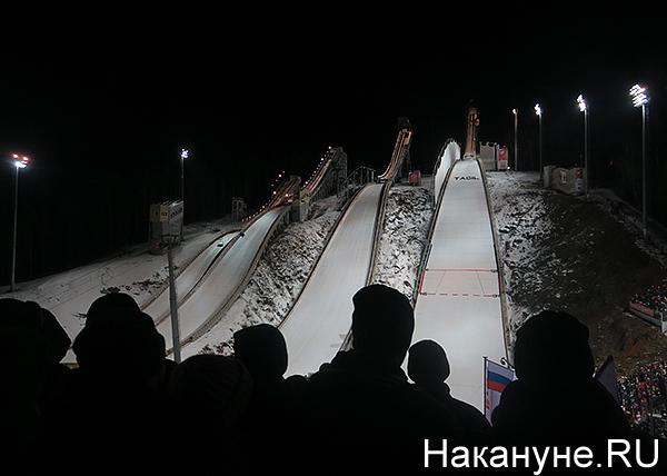 Кубок мира по прыжкам с трамплина, Нижний Тагил, гора Долгая, комплекс Аист(2017)|Фото: Накануне.RU
