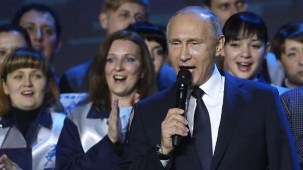 Владимир Путин, встреча с работниками завода ГАЗ, объявление о выдвижении в президенты(2017)|Фото: ТАСС/Михаил Метцель