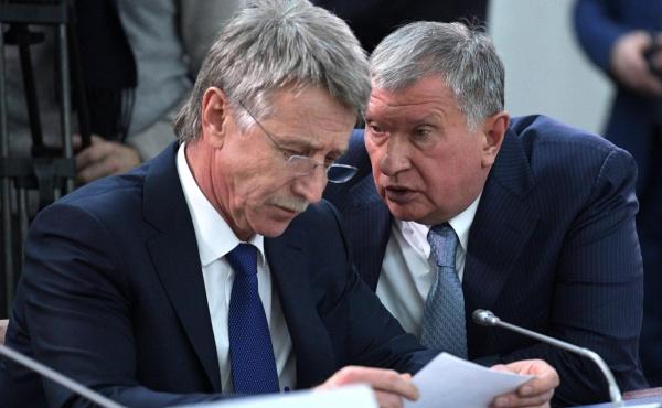 СПГ, Леонид Михельсон, Игорь Сечин, ЯНАО(2017)|Фото:http://kremlin.ru/