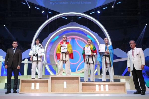 Чемпионат мира по киокусинкай каратэ, Евгений Куйвашев, Юрий Трутнев(2017)|Фото: Департамент информационной политики СО