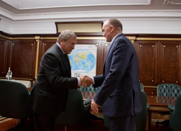 Борис Дубровский, Игорь Зюзин,(2017)|Фото: пресс-служба губернатора Челябинской области