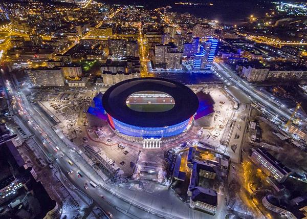 Центральный стадион, Екатеринбург, Екатеринбург-Арена(2017)|Фото: Синара