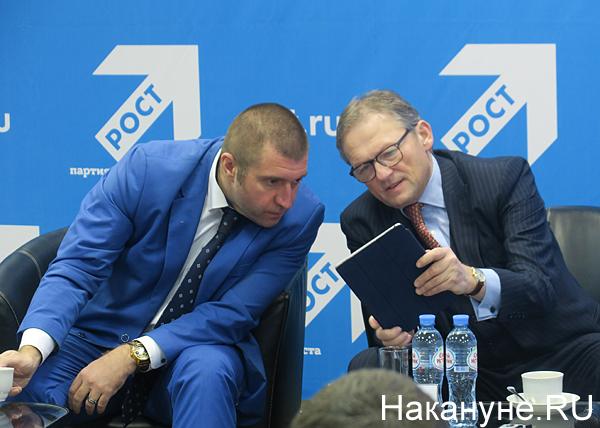 Дмитрий Потапенко, Борис Титов(2017)|Фото: Накануне.RU