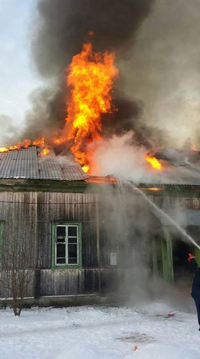 ДК Чусовское, пожар(2017)|Фото: facebook.com/mforum2