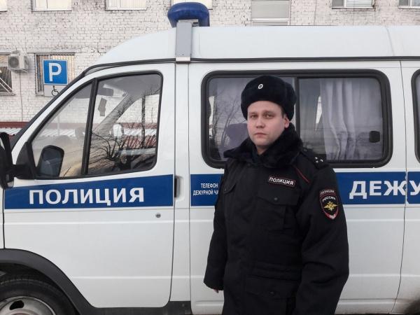 полицейский Андрей Баутов(2017)|Фото: В.Н. Горелых