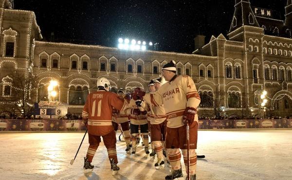Владимир Путин, Ночная хоккейная лига(2017)|Фото:kremlin.ru