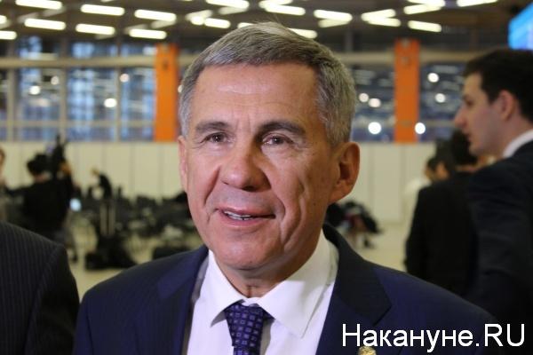 Рустам Минниханов, глава Татарстана(2017) Фото: nakanune.ru