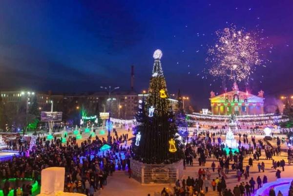 ледовый городок Нижний Тагил(2017)|Фото: ntagil.org