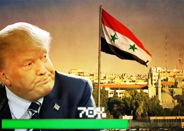 коллаж, сценарии 2018 года, Трамп, США, Сирия(2017)|Фото: Накануне.RU
