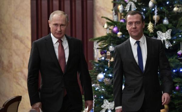 Владимир Путин, Дмитрий Медведев(2017)|Фото: kremlin.ru