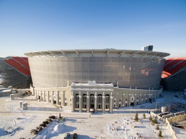 Екатеринбург-Арена центральный стадион(2017) Фото:Центр общественных связей Группы Синара
