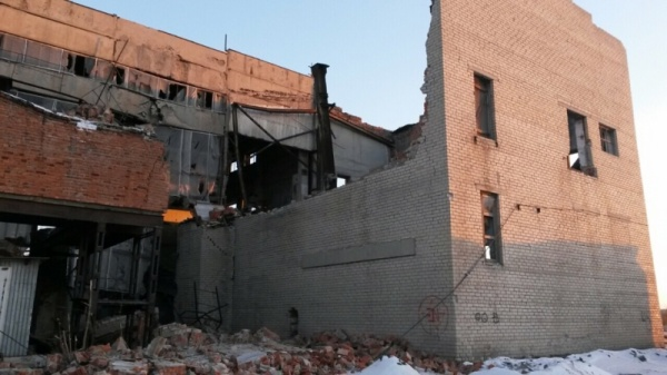 обрушение здания, поселок Бажова,(2018)|Фото: ГУ МЧС по Челябинской области