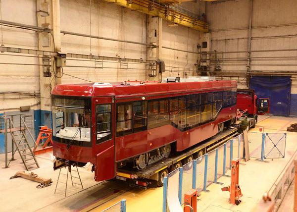 вагон УВЗ, трамвай для Казани(2018) Фото: пресс-служба УВЗ
