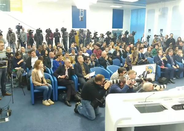 Пресс-конференция Грудинина(2018)|Фото: youtube.com/Нейромир-ТВ
