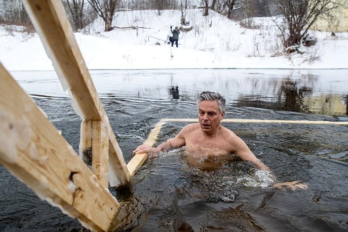 Джон Хантсман (2018)|Фото: Сергей Бобылев/ТАСС