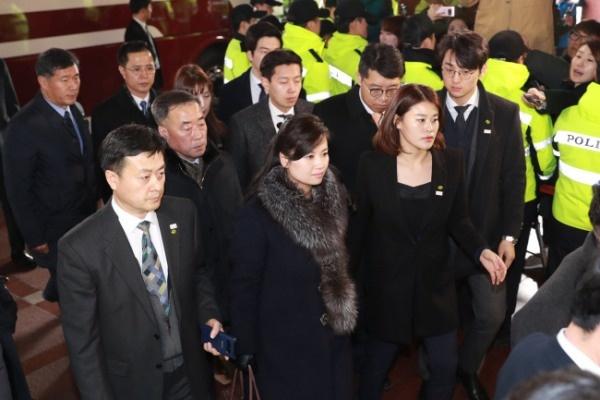 Северокорейская делегация в Южной Корее(2018)|Фото: www.koreaherald.com/