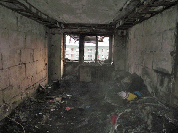 пожар в Полевском, жилой дом(2018)|Фото: СКР Свердловской области