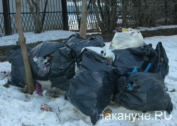 свалка мусор мешок помойка|Фото: Накануне.RU