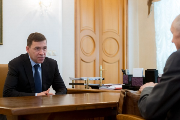 Евгений Куйвашев(2018) Фото: ДИП губернатора Свердловской области