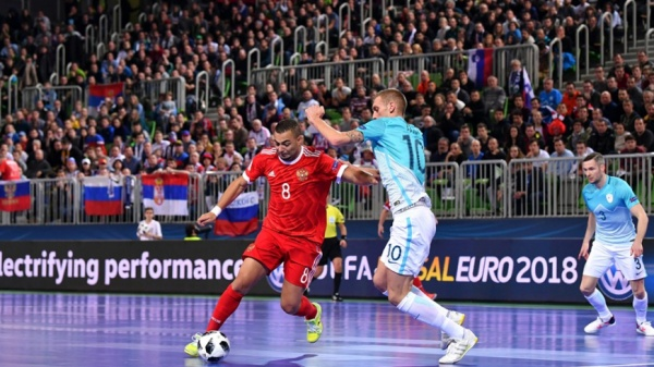 Россия, Словения, мини-футбол(2018)|Фото: rfs.ru