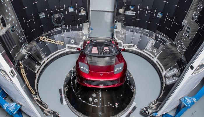Tesla Roadster (2018)|Фото: SpaceX