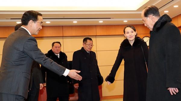Высокопоставленных северокорейцев встречают на Юге(2018)|Фото: www.koreatimes.co.k