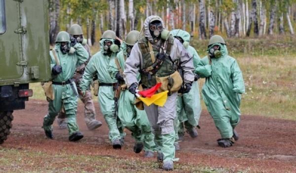 войска радиационной, химической и биологической защиты РФ, радиация, химзащита, противогаз(2018)|Фото: 40.mchs.gov.ru